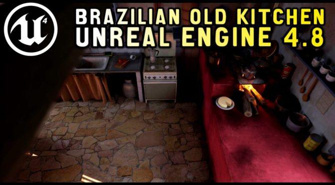 Une vieille cuisine mexicaine sous Unreal Engine 4