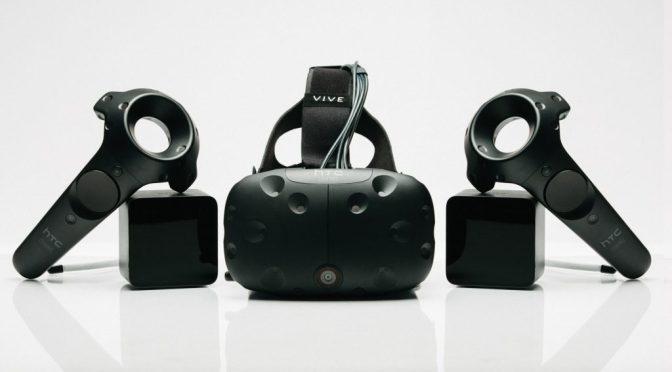 """<span class=""""caps"""">HTC</span> Vive, un casque de réalité virtuelle à fort potentiel"""