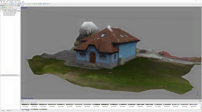 """Comparatif de softs de Scan <span class=""""caps"""">3D</span> sur un bâtiment en passant par undrone"""