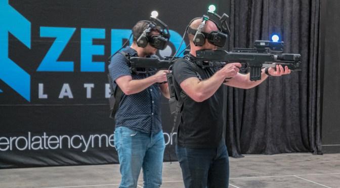 Affrontez-vous ou jouez en équipe dans une salle de réalité virtuelle