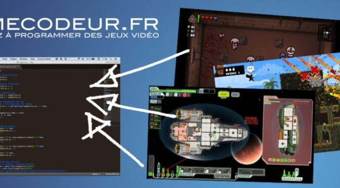 Gamecodeur: école en ligne pour apprendre à créer des jeux vidéo