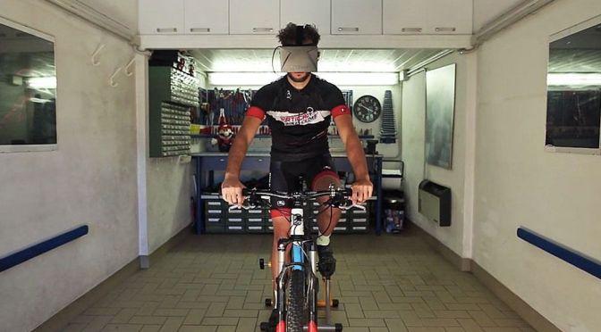 "Widerun pour transformer son vélo en vélo<span class=""caps"">VR</span>"