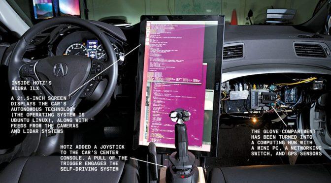 Étude des travaux de Geohot sur les véhicules autonomes