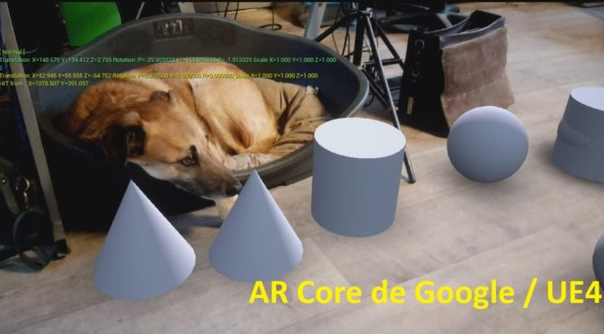 """Explorons ensemble l'<span class=""""caps"""">AR</span> Core (Réalité Augmentée) sous Unreal Engine"""