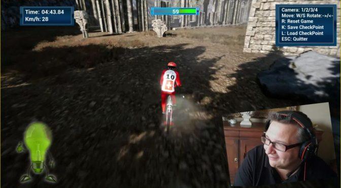 """<span class=""""caps"""">BMX</span>:  jeu à télécharger réalisé sous Unreal Engine 4 par Meletou"""