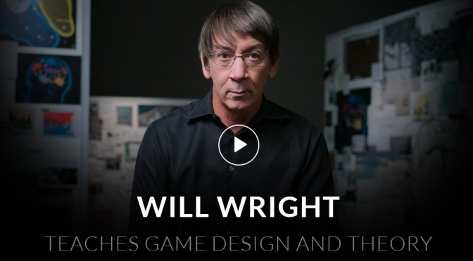 La formation de Will Wright sur le Game Design