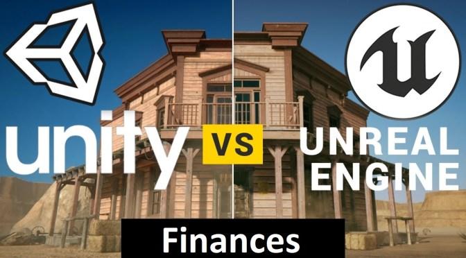 Unity vs Unreal Engine coté Financements