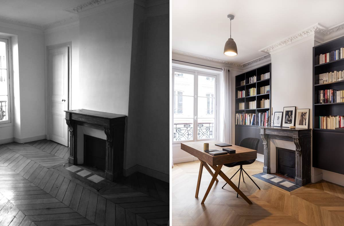 Architecture Dintrieur Dun Appartement Haussmannien 4