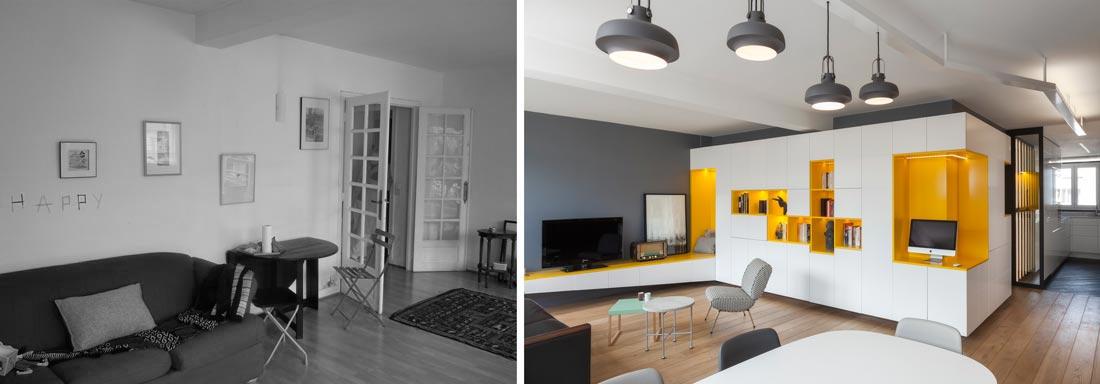 Rnovation Dun Appartement 3 Pices Par Un Architecte D