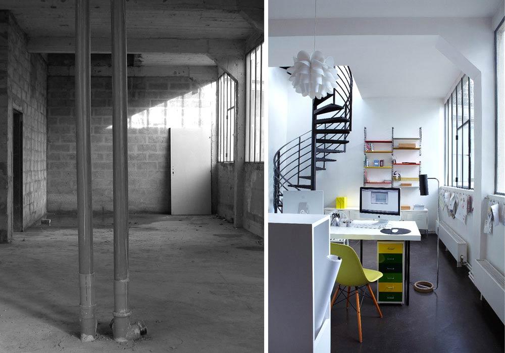 Bureau Loft 50m2 Paris