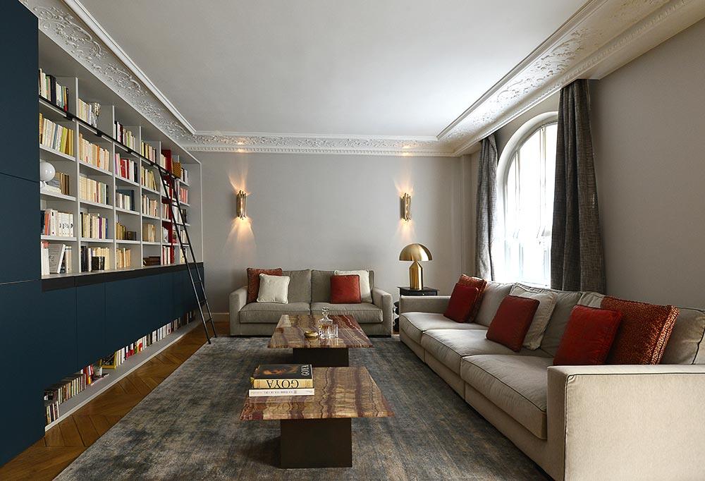 Appartement Haussmannien De 220m2 Dcoration Dintrieur