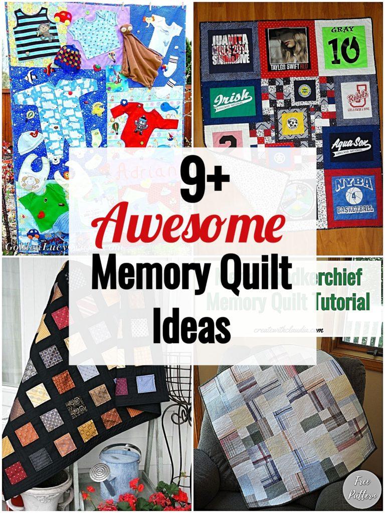 Memory Quilt Ideas