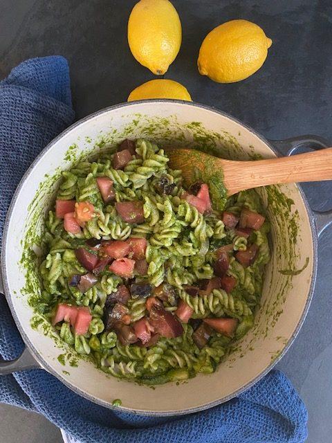 Garden Pesto Pasta