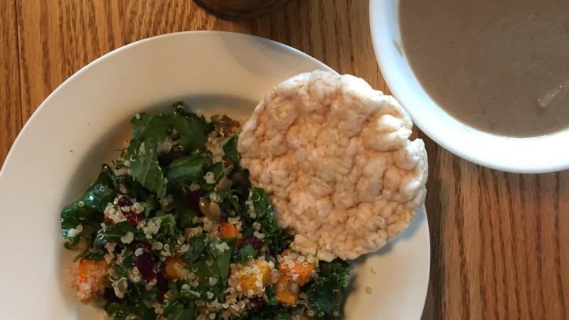 Hearty Vegan Salad (warm & roasted)