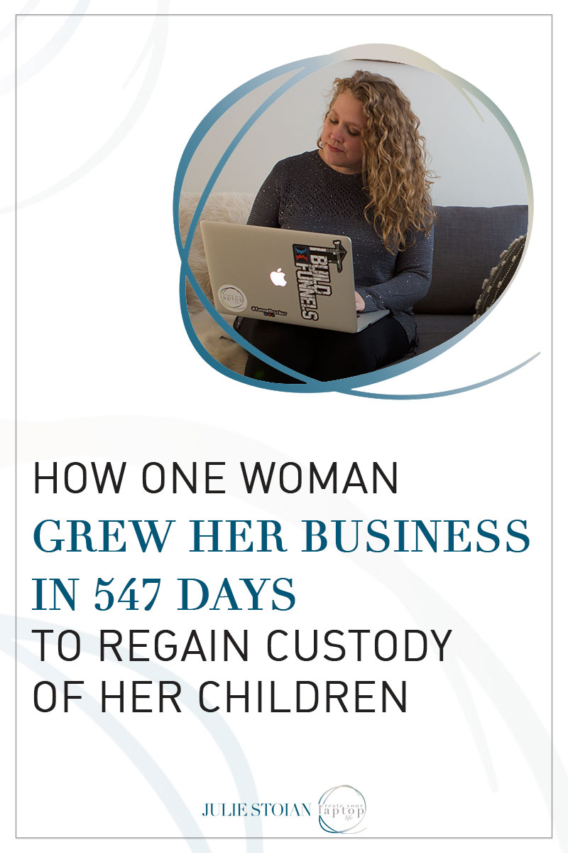 How One Woman Grew Her Business in 547 To Regain Custody of Her Children