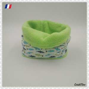 Snood / Cache cou poisson
