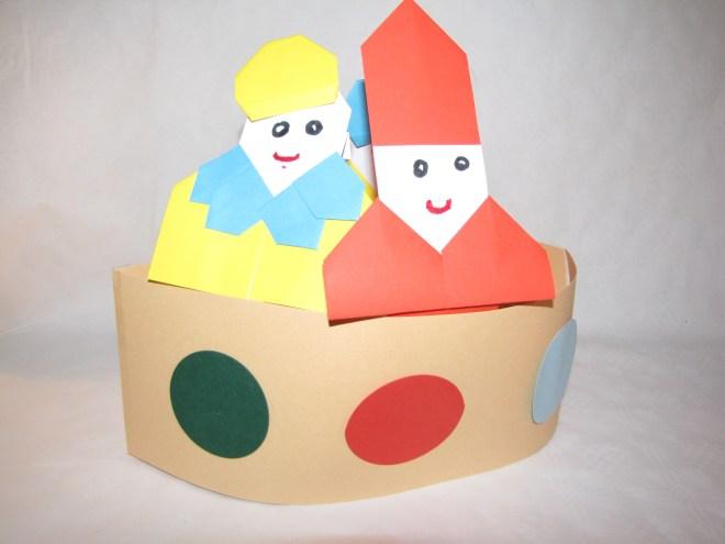 Stoomboot met Sint en Piet - Creatief en Simpel - Download de gratis werkbeschrijving op onze site