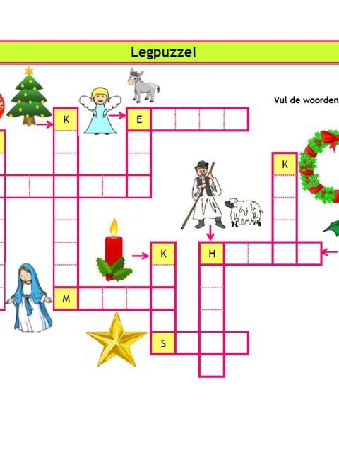 Legpuzzel Kerst - Creatief en Simpel - Download gratis op onze site