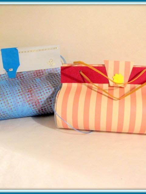 Tasje van Pringlesbus, leuk om te maken en een cadeautje in te pakken - Creatief en Simpel - Download de werkbeschrijving op onze site