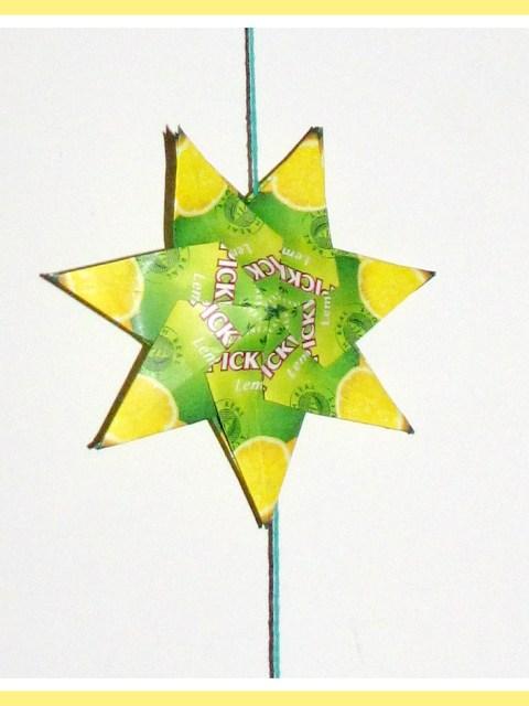 Hanger theezakjes ster, met weinig investering een leuk resultaat - Creatief en Simpel - Download de werkbeschrijving op onze site