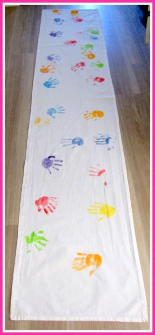 Tafelloper versieren - Creatief en Simpel - Ga naar onze site voor de uitleg