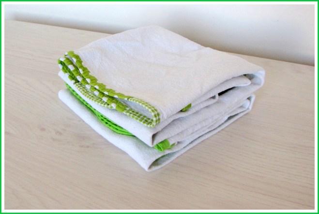 Flanellen doek (vierkant) - Creatief en Simpel - Ga naar onze site voor de werkbeschrijving en nog meer leuke ideeen vooor de kinderkamer