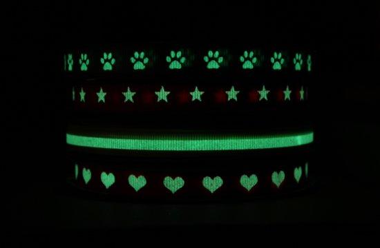 Zelf strikjes maken met glow in the dark lint
