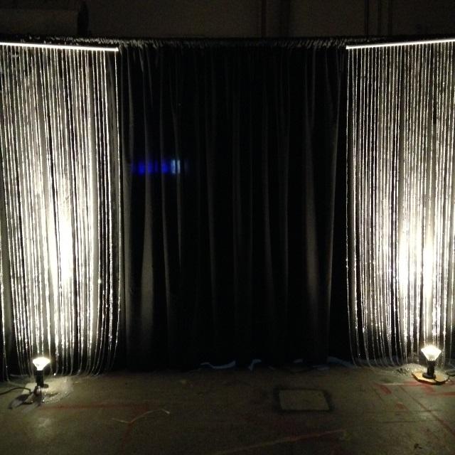 Purple Curtain Backdrop