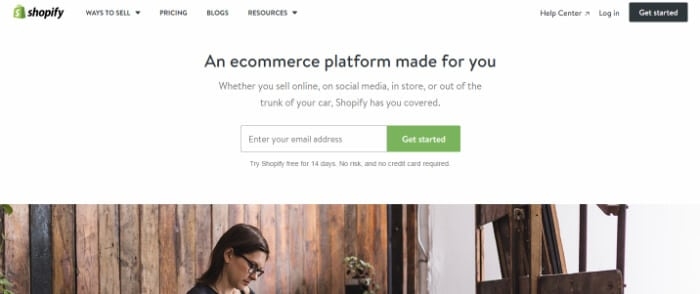Shopify Homepage - The Best Store Website Builder