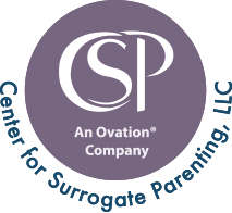 Center for Surrogate Parenting - An Ovation Company Logo