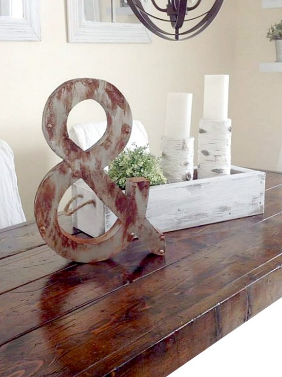 How to Make Weathered Metal 3D Letters