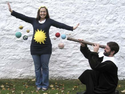 Homemade pregnant costumes