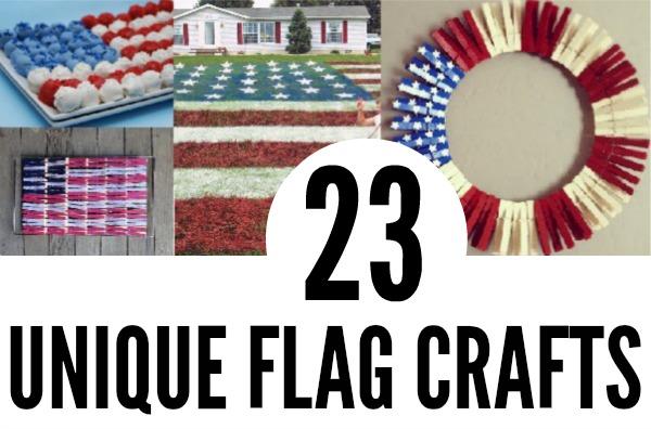24 Unique Flag Crafts CRAFT