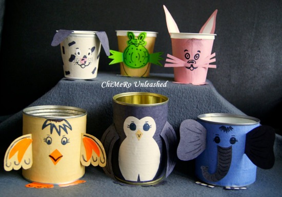 Christmas Crafts Out Cups Light