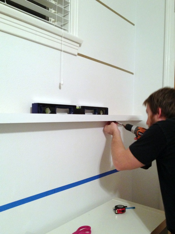How To Build Picture Ledge Shelves CRAFT