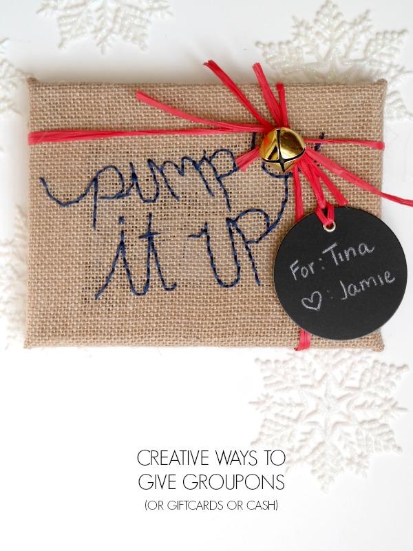 Creative Ways To Give Groupons CRAFT