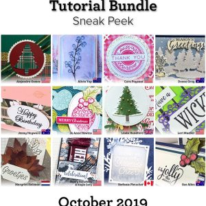 SATW - Tutorial Bundle for October