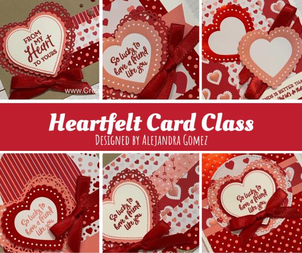 Heartfelt card class