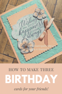 how to make Birthday handmade cards for your friends