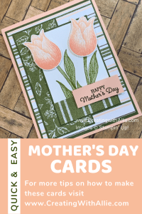 Easy Mother's Day handmade card ideas you can make