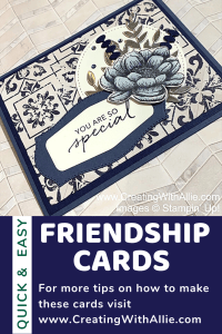 Cards ideas with Tasteful Touches Suite to make