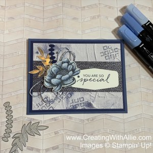 Using alcohol markers in your cards
