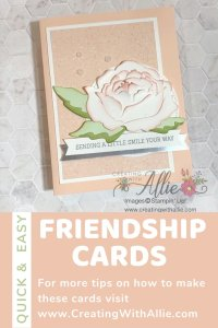 Learn how to make beautiful handmade cards with the Peony dies