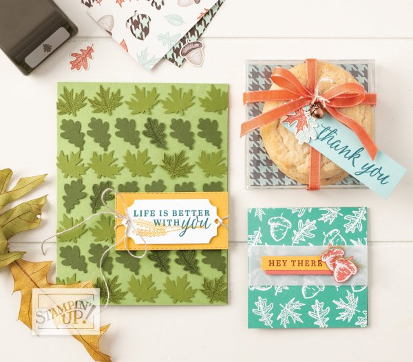 Stamps sets that used in the Autumn Tutorial Bundle