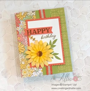 Easy Birthday Card for World Card Making Day