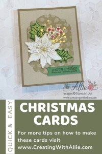 Three Easy Christmas Cards to make