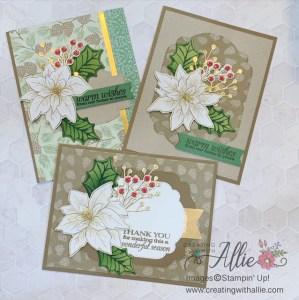 Three Easy Christmas Cards to Make
