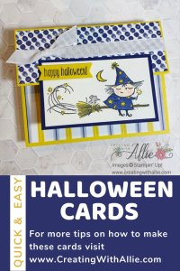 Easy Halloween Cards to make