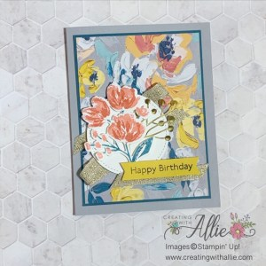 Card ideas using the Fine Art Floral Suite