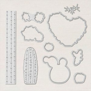 Flowering Cactus die set